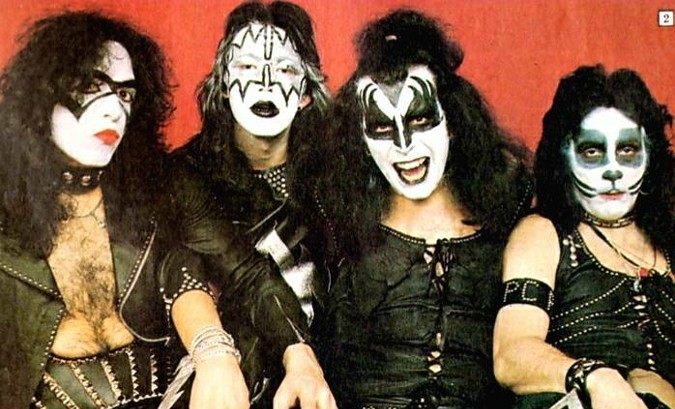 KISS Original Lineup vintage Circus Magazine photo